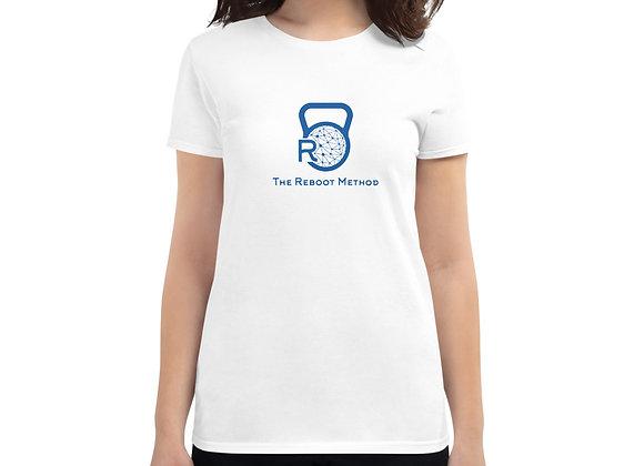T-shirt logo TRM bleu