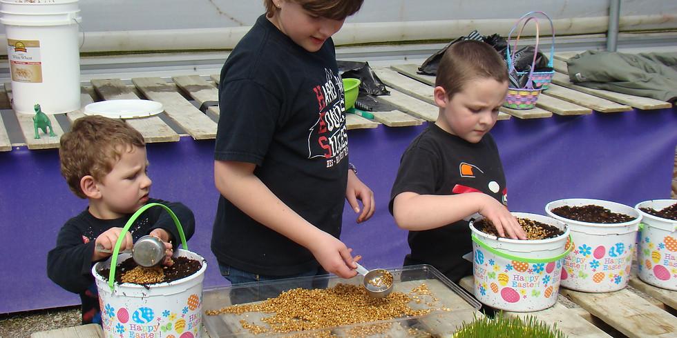 Easter Basket Planting - Saturday Event
