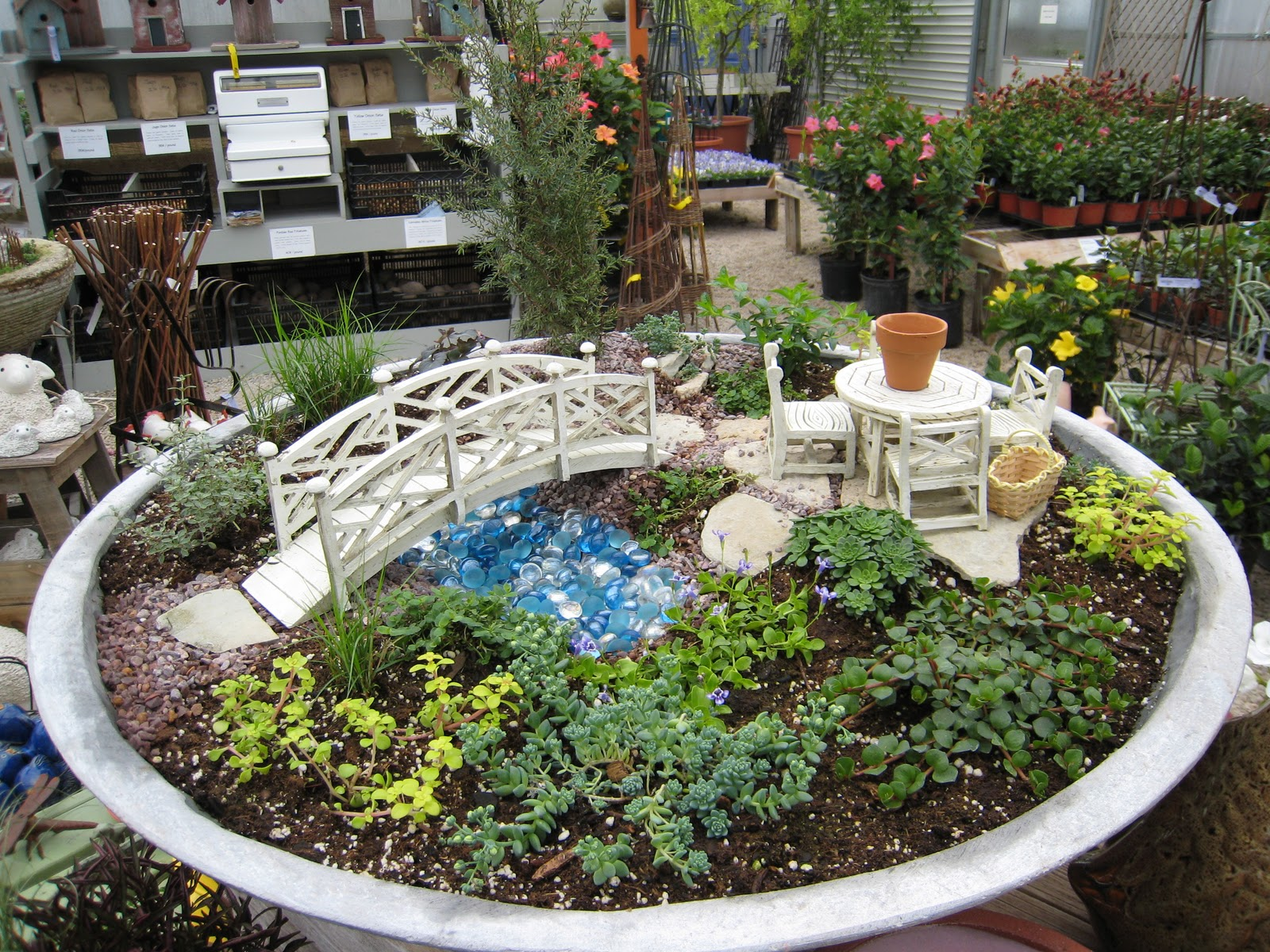 Cache Valley Utah Fairy Gardens