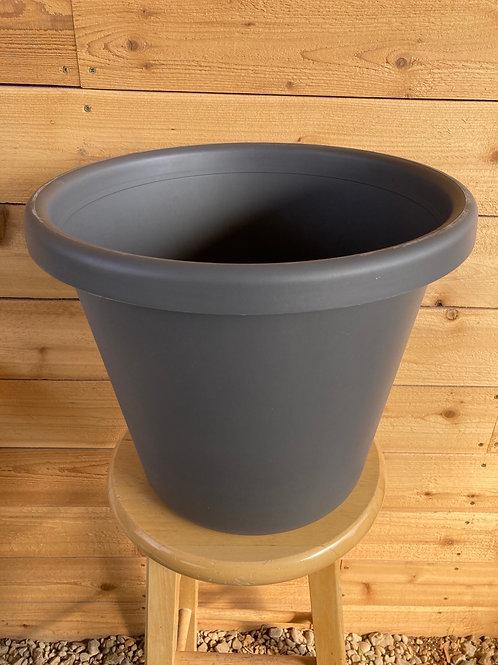 """12"""" Classic Warm Grey Pot"""