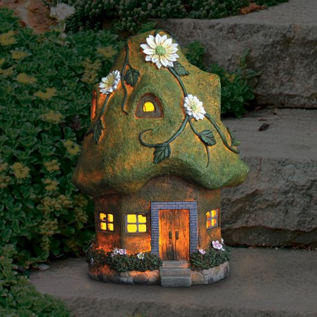 14-inch-solar-cottage-moss-roof