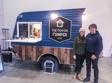 FREE Cocoa from the Cocoa Camper!