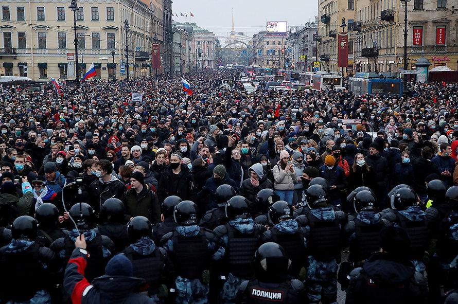 Pro-Navalny protests_Russia_Anton Vagano
