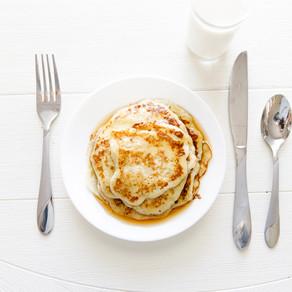 3 Ingredient Banana Pancakes! Dairy Free!