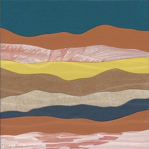 Mountain Mini Series #133 | original collage