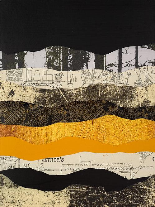 Juniper Mountain | original collage