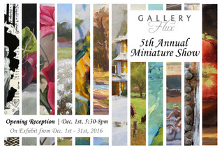 5th annual miniature show at gallery flux