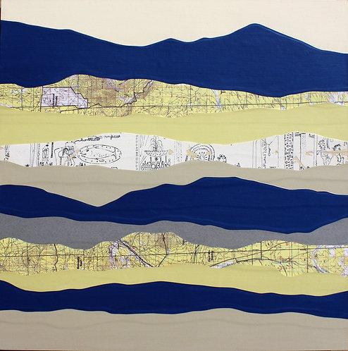 Knoll Mountain I | original collage