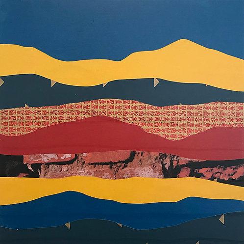 Delores River | original collage