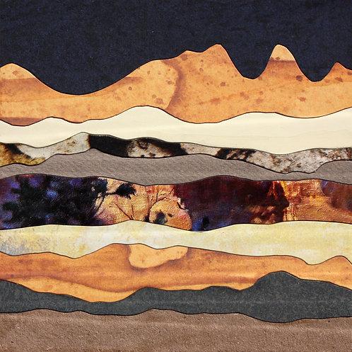 Foothills in Moonlight II | print