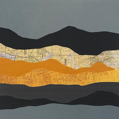 Knoll Mountain II | original collage