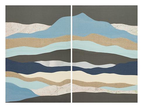 Mores Creek Summit I & II | original collage