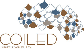 art show at coiled wines