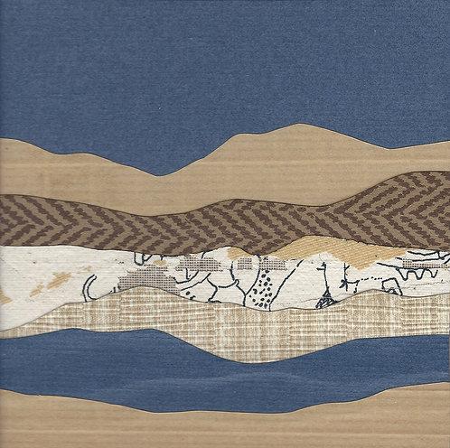 Mountain Mini Series #129 | original collage
