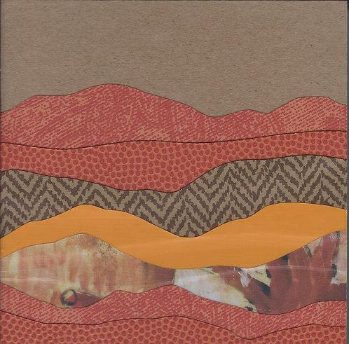 Mountain Mini Series #125 | original collage