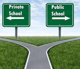 Private versus public Some differences between public and private schools are obvious. But deciding what's right for your child entails shedding light on the subtle distinctions many parents ignore. by: GreatSchools Staff 18063.jpg Private versus public! I