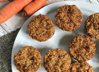 Glutenfreie Möhren-Muffins