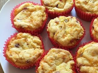 Herzhafte glutenfreie Muffins