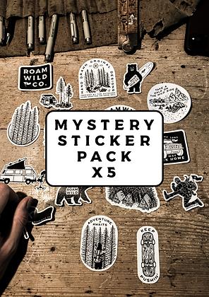 MYSTERY STICKER PACK