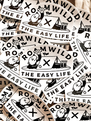 The easy life sticker