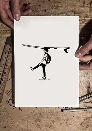 Surfers paradise print