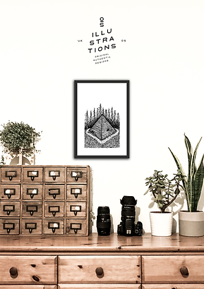 THE TEMPLE PRINT