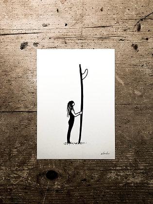 Surfer - Signed a5 print