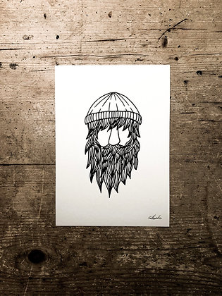 Nomad - Signed a5 print