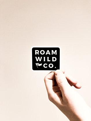 roam wild sticker