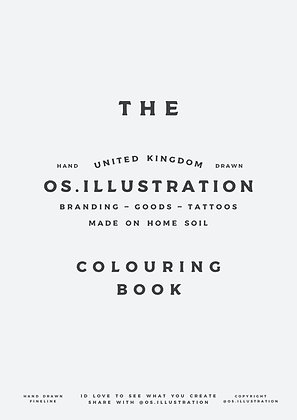Printable os.illustration Colouring book