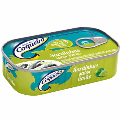 Coqueiro Sardinha Limao/Sardines in Lemon
