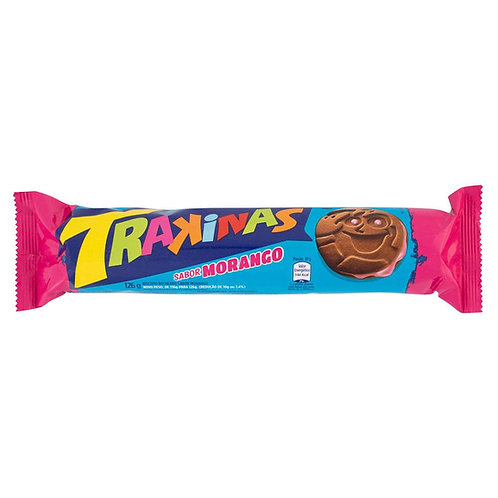 Trakinas Morango/Chocolate and Strawberry Cookies