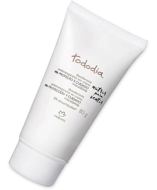 Tododia Desodorante Creme Macadâmia/Cream Deodorant Macadamia