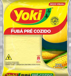 Yoki Fuba Pre-Cozido