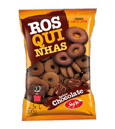 Sagra Rosquinhas Chocolate/Chocolate Donuts Biscuits