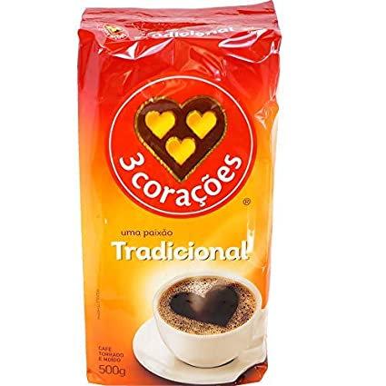3 Corações Tradicional/Medium Roast Coffee
