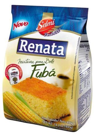 Renata Bolo de Fubá/Cornmeal Cake