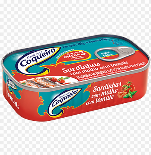 Coqueiro Sardinha com Molho de Tomate/Sardine in Tomato Sauce