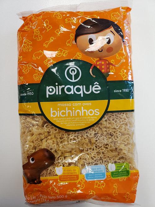 Piraque Massa Bichinhos/Pasta in Animals Form
