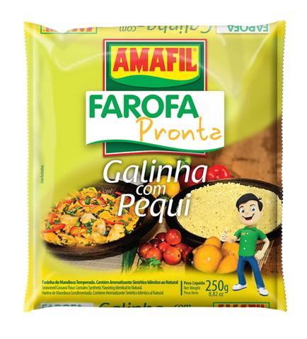 Amafil Farofa Galinha com Pequi