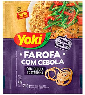Yoki Farofa com Cebola