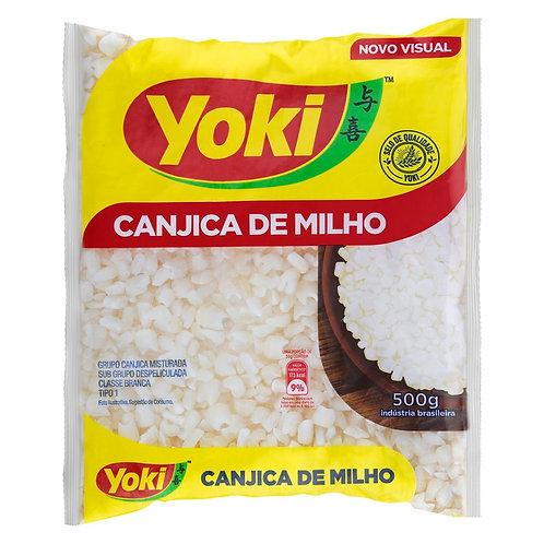 Yoki Canjica Branca/White Hominy Corn