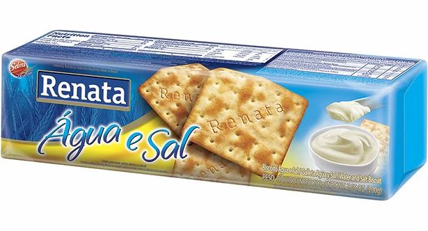 Renata Água e Sal/Water and Salt Biscuit
