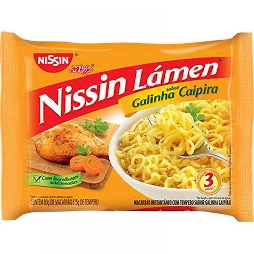 Nissin Lamen Galinha Caipira/Free-Range Chicken Ramen