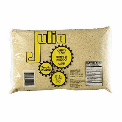 Julia Farinha de Mandioca Torrada/Roasted Yuca Flour