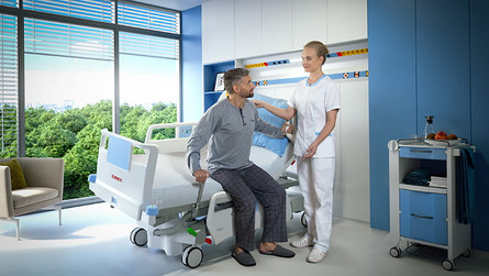 Using Hospital Bed Technology to Reduce Falls