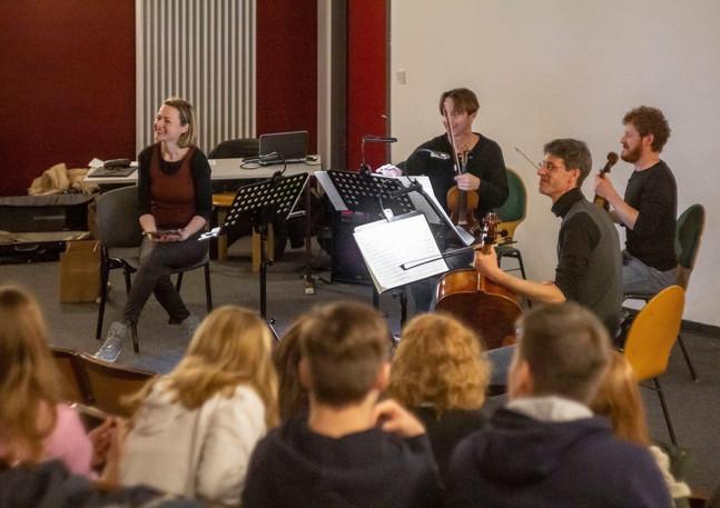Der Tod und das Mädchen Streichquartett d-Moll von Franz Schubert D810
