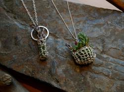 living basket necklaces