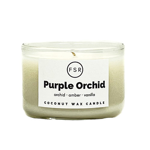 Purple Orchid Candle