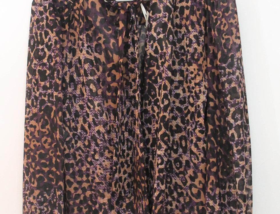 Blusa leopardo Lila